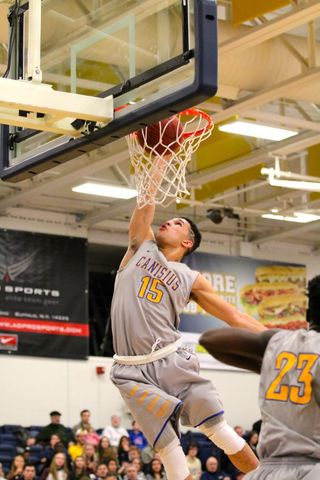 Justin Jones dunk