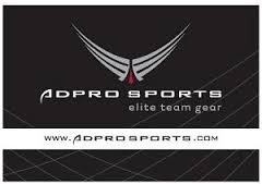 ADPRO Sports elite team gear